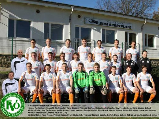 1. men's team of the FVO 05